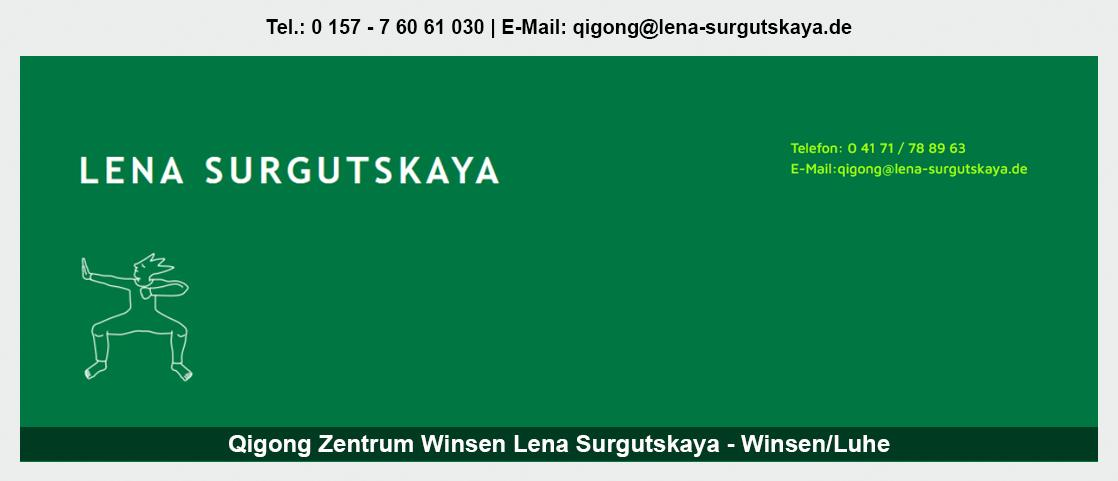 Qigong bei Stelle - Lena Surgutskaya: Qigong für Eltern, Qigong Seminare, Ergotherapie